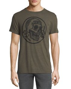 017eadac Shop Skull-Print Graphic Tee from Chaser at Neiman Marcus Last Call, where  you'll save as much as on designer fashions.