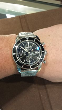 Breitling Super Chronograph Watch