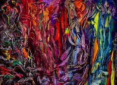 """Saatchi Online Artist Sharon Farrah; Painting, """"Change and the fear of change rearranges your being"""" #art"""