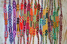 FRIENDSHIP BRACELETS Woven Wholesale Of 50 Wristbands Handmade Fair Trade Gifts