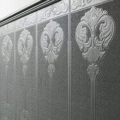 Paintable Wallpaper, Old Wallpaper, Embossed Wallpaper, Ceiling Decor, Wall Decor, Baroque, Uk Area, Gypsum Ceiling, Dado Rail