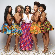 Its African inspired. | The Bombchel Factory ~African fashion, Ankara, kitenge, African women dresses, African prints, Braids, Nigerian wedding, Ghanaian fashion, African wedding ~DKK