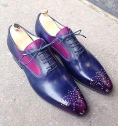 Caulaincourt shoes - Avalon - pink blue