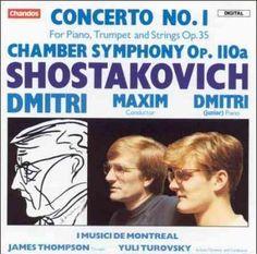 Precision Series Dmitri Shostakovitch - Shostakovich:Piano Concerto 1