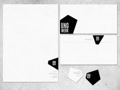 Identity - stationary | typography / graphic design: Jonathan Faust |
