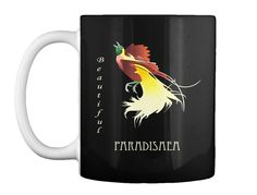 Paradisaea Minor Black T-Shirt Front