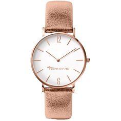 Gediegene #Uhr in #Gold von #Tamaris. Dieses schicke Modell passt ideal zu femininer Mode und ist ein toller Begleiter für viele Gelegenheiten. Darüber freut sich jede Frau! ♥ ab 119,00 €