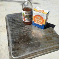 Soda oczyszczona i wykorzystuje Ocet
