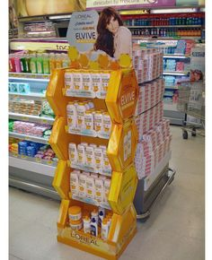 Popon | Image Gallery | L'Oreal Elvive Re-Nutricion Floor Display