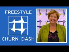 Make an Easy Freestyle Churn Dash Quilt | Missouri Star Quilt Company - YouTube | Bloglovin'