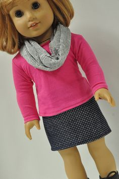 American Girl Doll Clothes Sparkly Rhinestone by CircleCSewing, $15.00