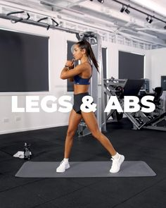Fitness Workouts, Gym Workout Videos, Gym Workout For Beginners, Fitness Workout For Women, Fitness Goals, Leg And Ab Workout, Workout Challenge, Dream Interpretation, Celebrity Workout