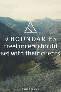 When I started freelancing three years ago, I didn't set any boundaries with my clients. I wanted them to love working with me, so I thought I should give them whatever they wanted. This included extra revisions, design files that weren't included in their quote, lots of time added to their deadline… You get the point. Learn the 9 boundaries freelancers should set with their clients!