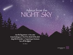 Advice from the Night Sky - Downloadable Screensaver