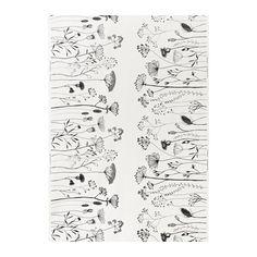 PILÖRT Fabric, white/black