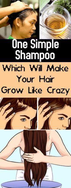 Which Will Make Your Hair Grow Like Crazy #hair #grow #crazy #beauty #health #shampoo