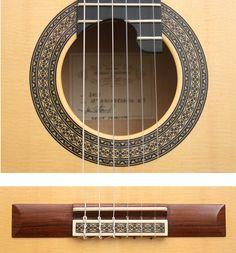 Guitar Manuel Contreras 10 Anniversary Roseta 2