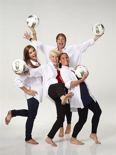 US Womens Soccer (L-R) Alex Morgan, Megan Rapinoe, Abby Wambach and Christie Rampone