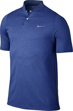 Nike Mens TW VL Max DF Cotton Blade Polo Game RoyalBlack Large >>> Find out more about the great product at the image link.