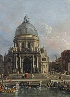 Canaletto MadonnadellaSalute Venezia