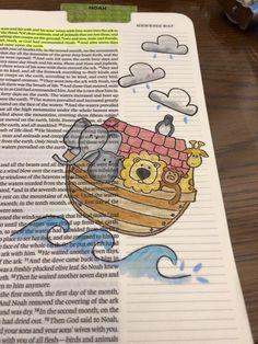 Noah Bible Journaling