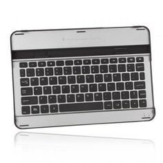 Aluminum Bluetooth Wireless Keyboard Dock Case For Samsung Tab