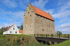 Glimmingehus, a Medieval castle, in Skane, Sweden
