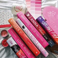 on wednesdays we read pink books by readsleepfangirl