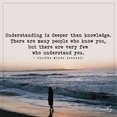 Understanding is deeper than knowledge - http://themindsjournal.com/understanding-is-deeper-than-knowledge/