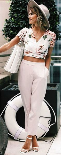 Board Meeting Light Pink Trouser Pants