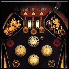 Tower of Power cover art by Bruce Steinberg