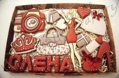 Фотография Sweet 16 Cupcakes, Celebrating Friendship, Cookie Icing, Vintage Cookies, Cookie Gifts, 50th Birthday, Engineer, Cookie Decorating, Sugar Cookies