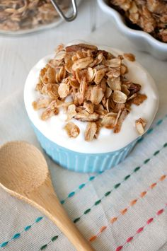 Coconut Pecan Skillet Granola