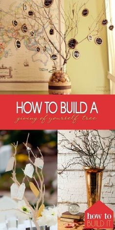 Learn how to build a giving of yourself tree! This is one of the sweetest and most unique Christmas traditions. Don't miss out on this article about a giving of yourself tree. Dyi Crafts, Diy Craft Projects, Preschool Crafts, Crafts To Make, Merry Christmas And Happy New Year, All Things Christmas, Christmas Diy, Christmas Decorations, Celebrating Christmas