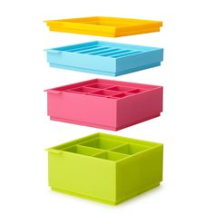 STACKABLE ICE TRAY SET   silicone ice cube tray   UncommonGoods