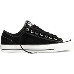 2375db2528 Converse CONS CTAS Pro – black white Sneakers ( 30) ❤ liked on Polyvore