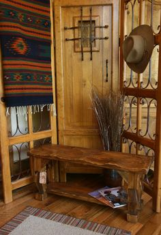 Handcrafted Wooden Bench $249.95