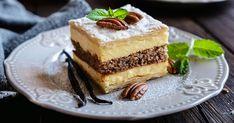Lahodný krémeš obohatený o orieškové prekvapenie... Tiramisu, Cheesecake, Pie, Ethnic Recipes, Food, Basket, Torte, Cake, Cheesecakes