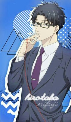 Hirotaka Nifuji Wallpaper by Otaku Anime, Manga Anime, Anime Art, Real Anime, Anime Guys, Koi, Cool Wallpapers For Phones, Cute Art Styles, Kawaii