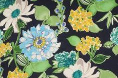 Sample of Audette-Sussex in Night Fall Printed Textured Cotton Drapery Fabric by Mill Creek $9.95 per yard