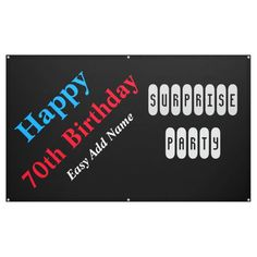 70th Birthday Banner 70th Birthday, Happy Birthday Banners, N Names, Outdoor Banners, Word Out, Meant To Be, Hold On, Birthdays
