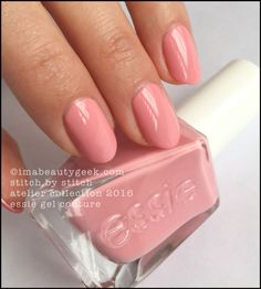Essie Stitch by Stitch. All the swatches 'n stuff at imabeautygeek.com