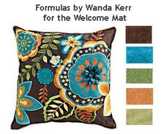 New colour formulas for The Welcome Mat