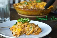Thanksgiving Leftovers: Turkey Tamale Pie from @Dinnersdishesdessert
