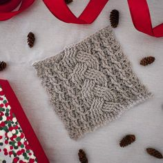 Cozy Cables Blanket Square- Free Pattern - A Purpose and A Stitch