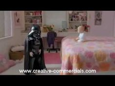 Creative Commercial of Volkswagen called The Force...The spot features a pint-sized Darth Vader who uses the Force when he discovers the all-new 2012 Passat in the driveway. It leverages humor and the unforgettable Star Wars™ score to create an emotional commercial