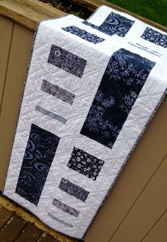 Tasty Measures from Modern Quilt Relish...straight line quilting