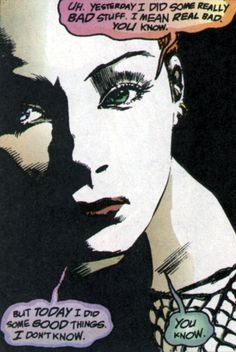Delirium by Neil Gaiman Neil Gaiman, Delirium Sandman, Nocturne, Comic Books Art, Comic Art, Muse, Comic Panels, Comic Character, Comic Book