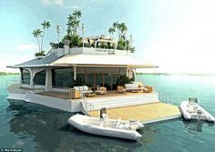 Love this house boat....