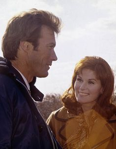 Clint Eastwood and Susan Clark in Coogan's Bluff